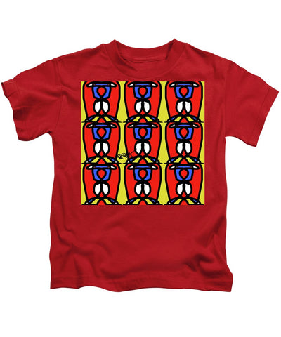 Bright Bold Regiaart - Kids T-Shirt