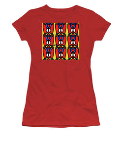 Bright Bold Regiaart - Women's T-Shirt (Athletic Fit)