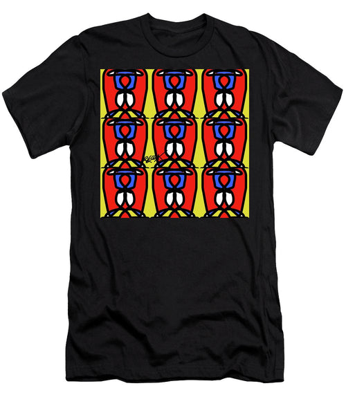 Bright Bold Regiaart - Men's T-Shirt (Athletic Fit)