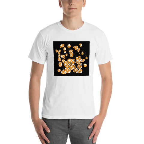 Bitcoin Men's Short Sleeve T-Shirt