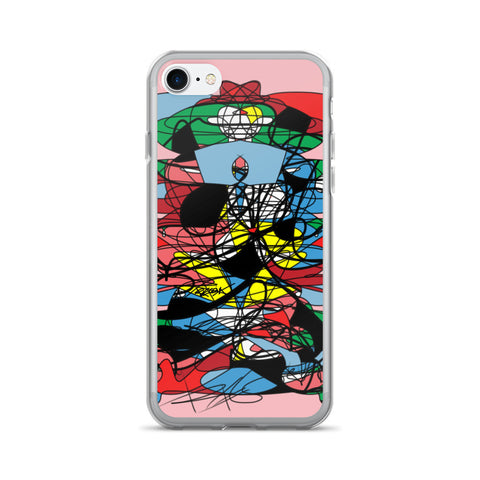 Abstraction Colors RegiaArt - iPhone 7/7 Plus Case, acrylic