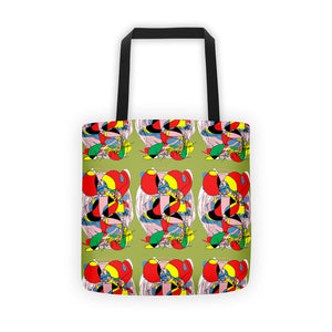 RegiaArt Abstract in Green Tote bag
