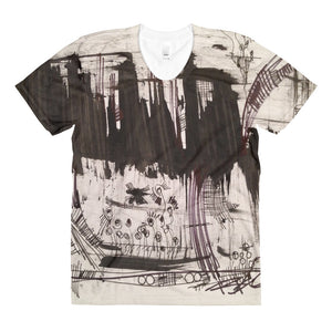 Black Forest Art Design RegiaArt - Sublimation women's crew neck t-shirt
