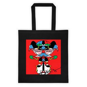 I Love Red RegiaArt Design - Tote bag cotton canvas