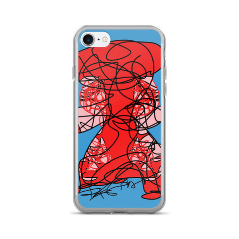 Lady in Red - iPhone 7/7 Plus Case