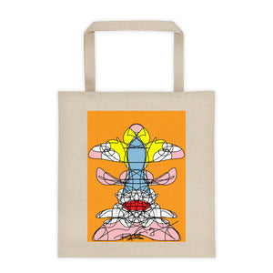 Yellow Head - Tote bag