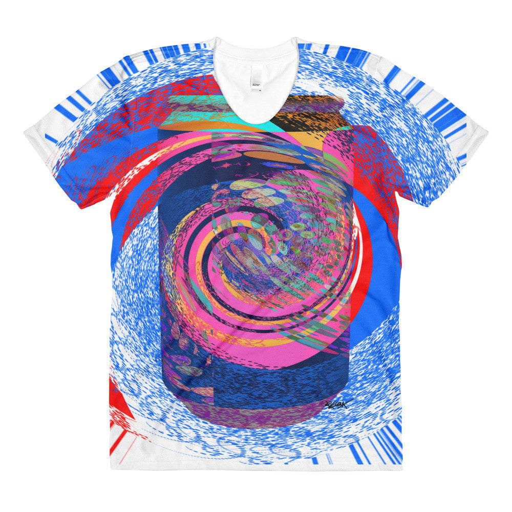 Can of Soda Dream Design RegiArt - Sublimation women's crew neck t-shirt