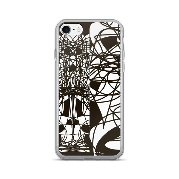 Black Lines Design RegiaArt - iPhone 7/7 Plus Case, acrylic