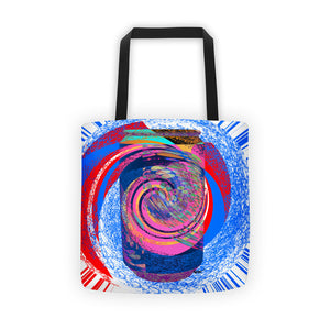 Can of Soda Dream Blue Design RegiaArt - Tote bag, polyester