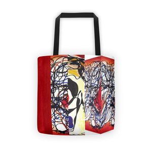 Red Neural 3D RegiaArt - Tote bag