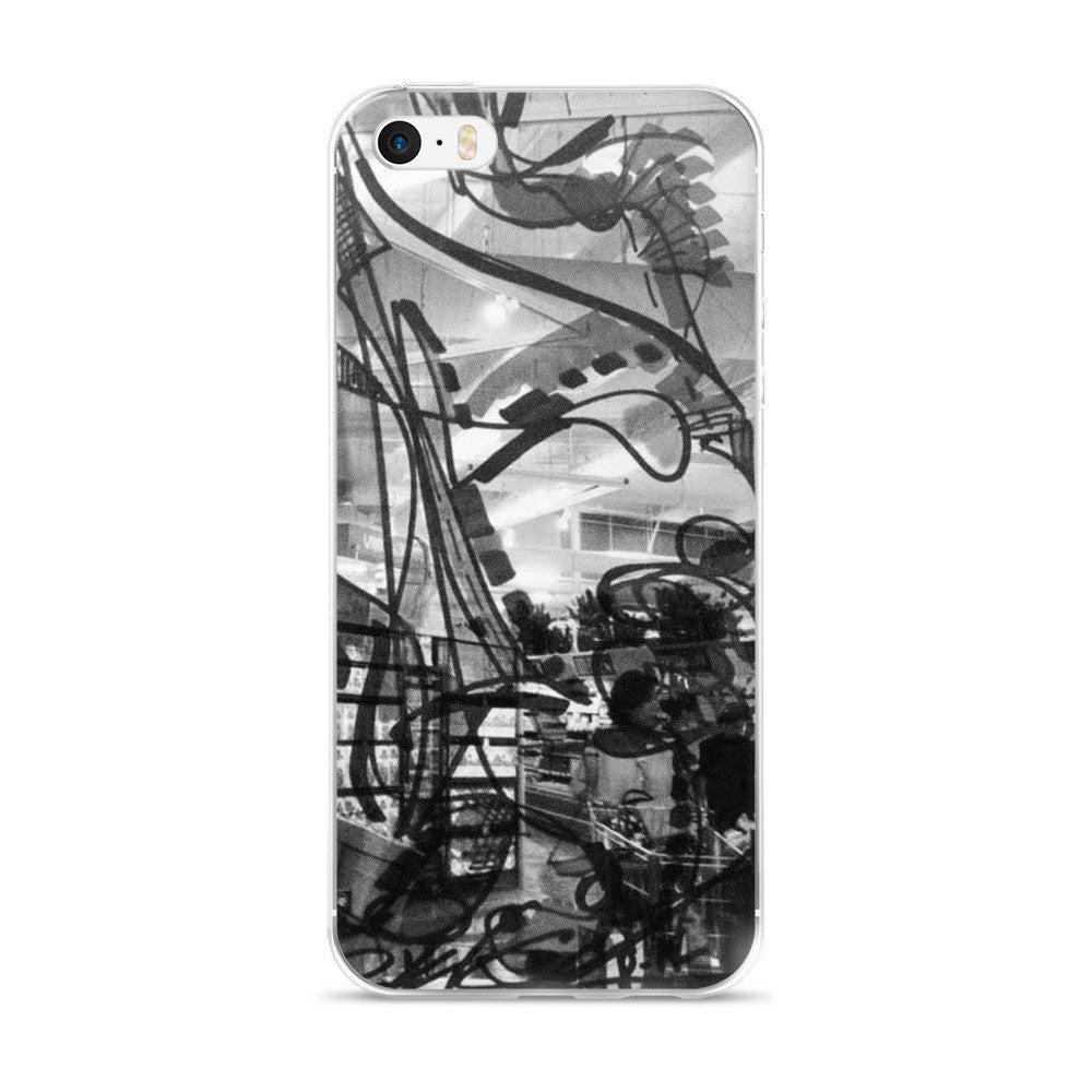 Black Draw RegiaArt - iPhone 5/5s/Se, 6/6s, 6/6s Plus Case