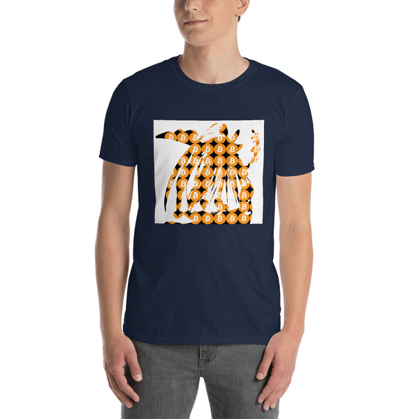Bitcoin Crypto Abstract Short-Sleeve Unisex T-Shirt