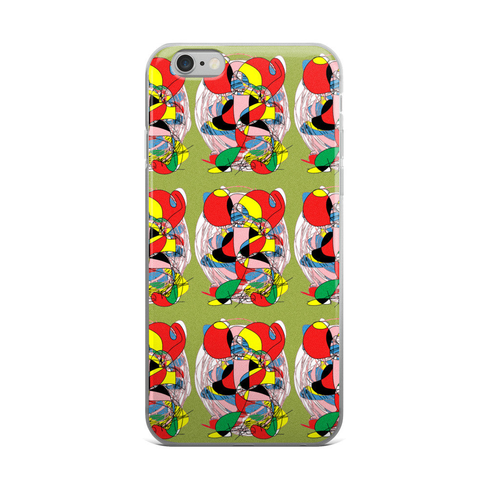 RegiaArt Abstract - iPhone 5/5s/Se, 6/6s, 6/6s Plus Case