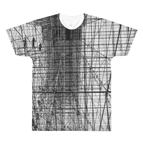 Scaffolding Art RegiaArt - Sublimation men's crewneck t-shirt