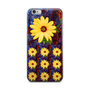 Yellow Flower RegiaArt - iPhone 5/5s/Se, 6/6s, 6/6s Plus Case