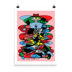 Abstraction Colors RegiaArt - Poster, art print paper