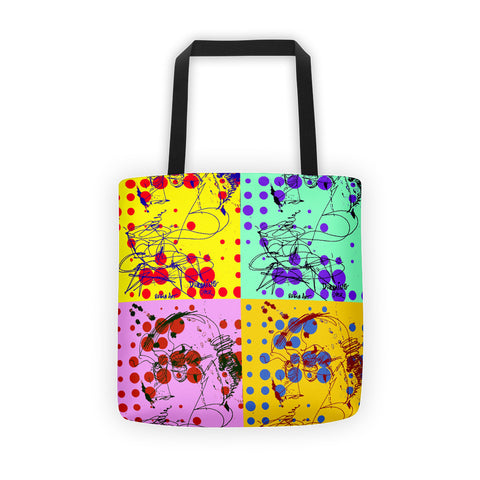 Bubbles 4 Colors RegiaArt - Tote bag