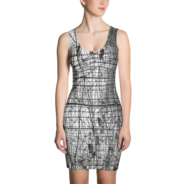 Scaffolding Dress Art RegiaArt - Sublimation Cut & Sew Dress