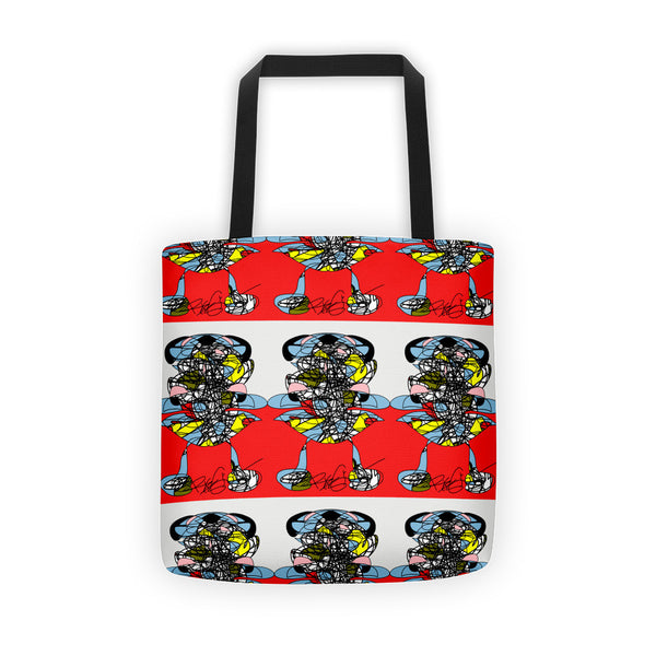 A Girl in the Red Sea - Tote bag
