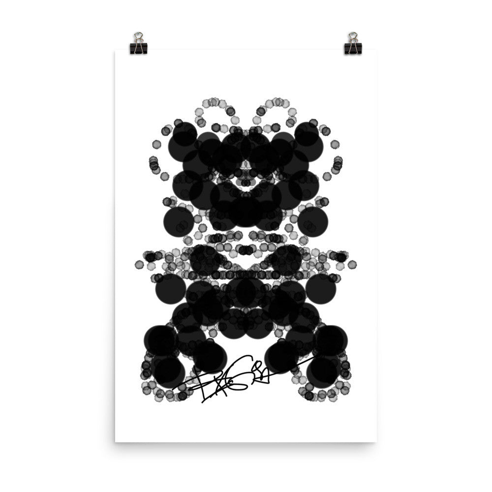 Black Dog Art Design RegiaArt - Poster matte paper