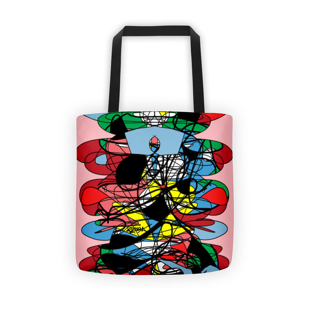 Abstraction Colors RegiaArt - Tote bag polyester weather resistant fabric