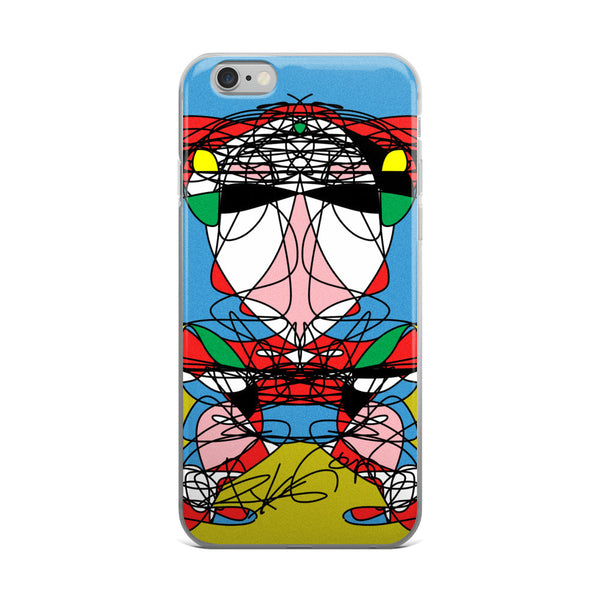 Head in the Blue RegiaArt - iPhone 5/5s/Se, 6/6s, 6/6s Plus Case
