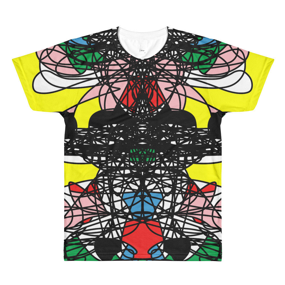 Contemporary Saturday Night RegiaArt 3033 Sublimation Men's Crewneck T-shirt