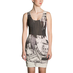 Black Forest Abstract Design RegiaArt - Sublimation Cut & Sew Dress, polyester, spandex