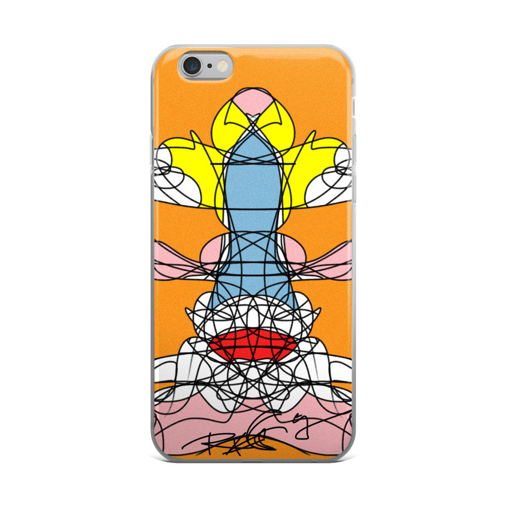 Yellow Head - iPhone 5/5s/Se, 6/6s, 6/6s Plus Case