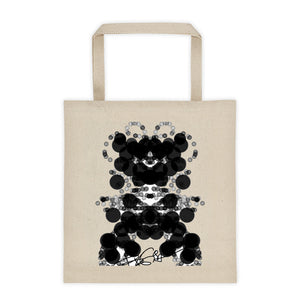 Black Dog Art Design RegiaArt - Tote bag, cotton canvas