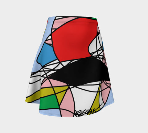 Friday Night, Geometric Colorful Skirt