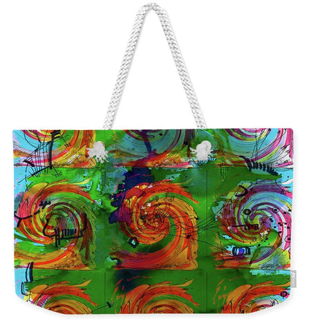 Waves - RegiaArt Weekender Tote Bag