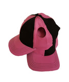 Pigtail Hat 2.0 Black/Pink