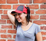 Pigtail Hat 2.0 Black/Red
