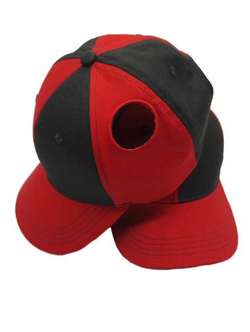 Pigtail Hat 1.0 Black/Red