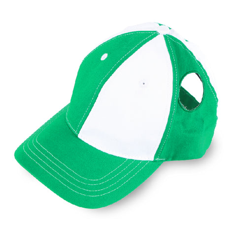 Pigtail Hat 1.0 Green/White