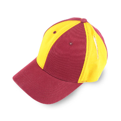 Pigtail Hat 2.0 Gold/Burgundy