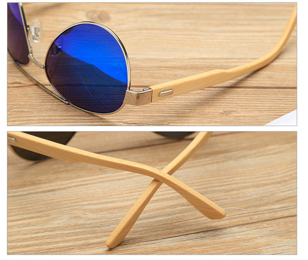 Wooden Sunglasses // Redwood