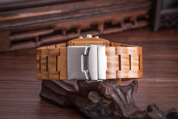 Wooden Digital Watches // The Bronson // Brown Maple