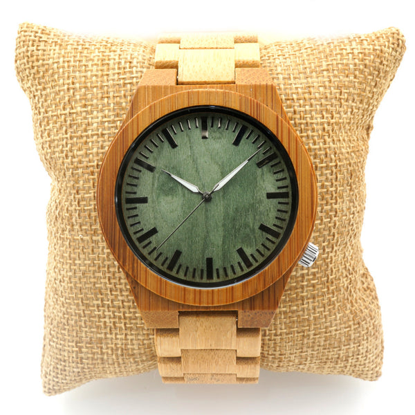 Wooden Watch // Cannon