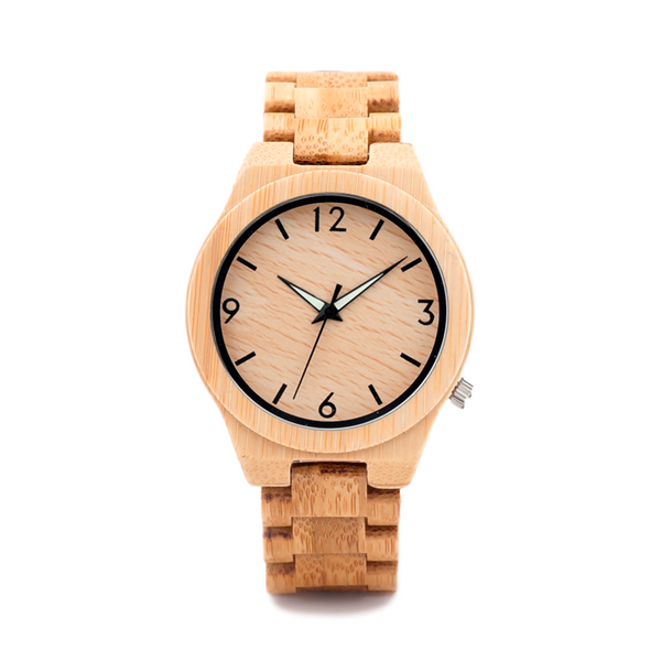 Wooden Watch // Canby