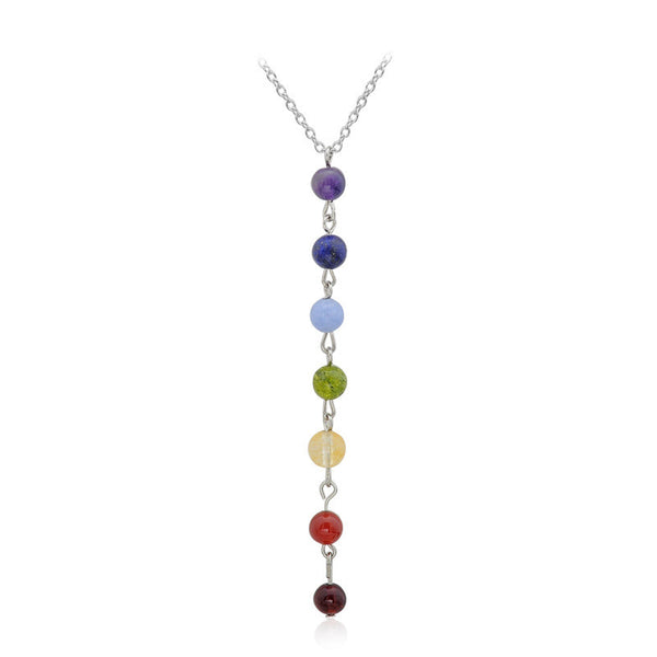 (SPECIAL ONE TIME OFFER) Free 7 Chakra Necklace - Natural Precious Stone - The Gorillas Den