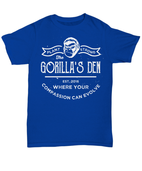 Plant-Strong - Unisex Premium T-shirt - The Gorillas Den
