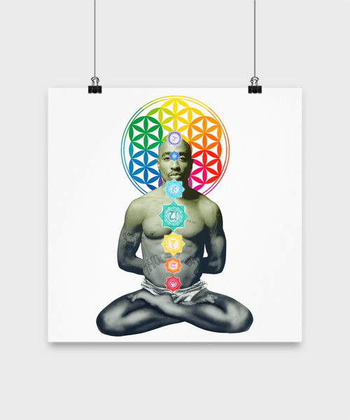 2paChakra Poster-Flower of Life - The Gorillas Den