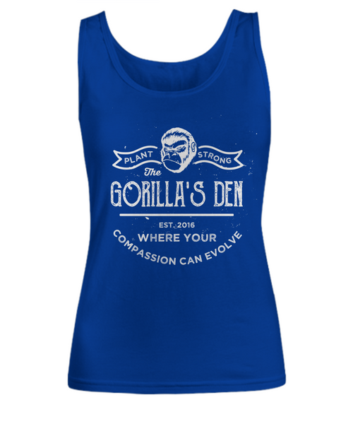 Plant-Strong - Women's Premium Tank (8 Colors) - The Gorillas Den