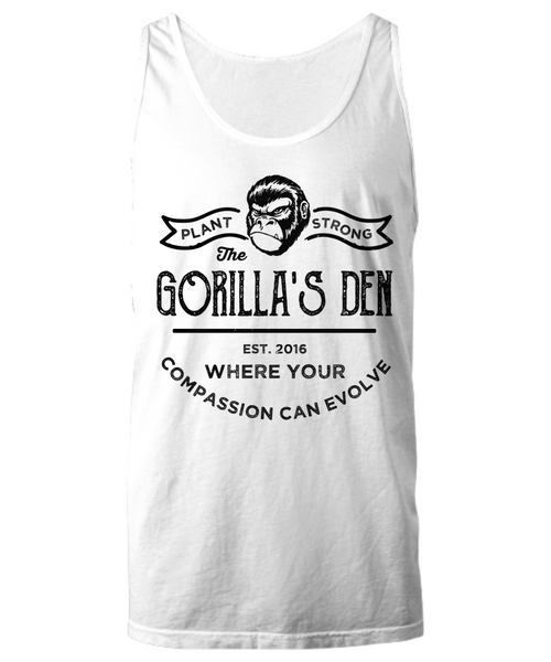 Plant-Strong - Unisex Premium Tank (3 Colors) - The Gorillas Den