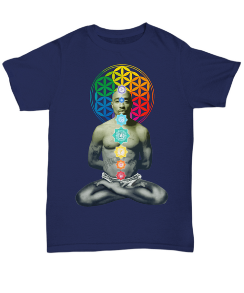 2paChakra-Chakra Coloured Flower of Life - The Gorillas Den