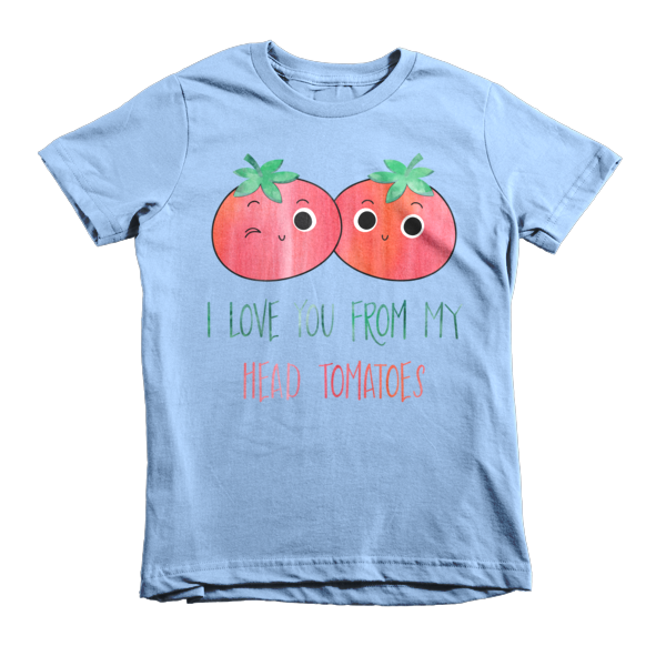 HEAD TO-MA-TOES kids tee - The Gorillas Den