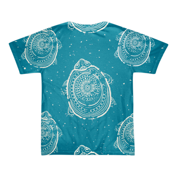 Race To The Shore Short sleeve t-shirt (unisex)-Blue - The Gorillas Den
