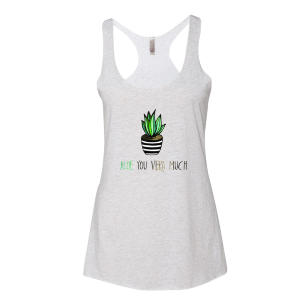 Aloe you vera much Women's tank top - The Gorillas Den
